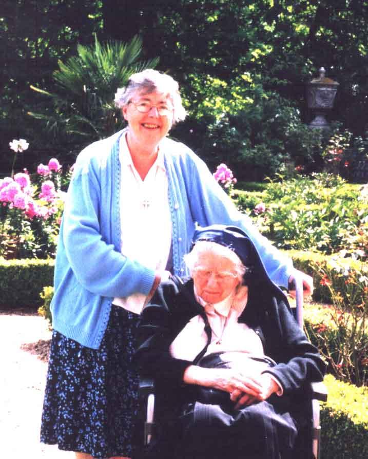 Sr. Mary Goretti and Sr. Mary Baptist